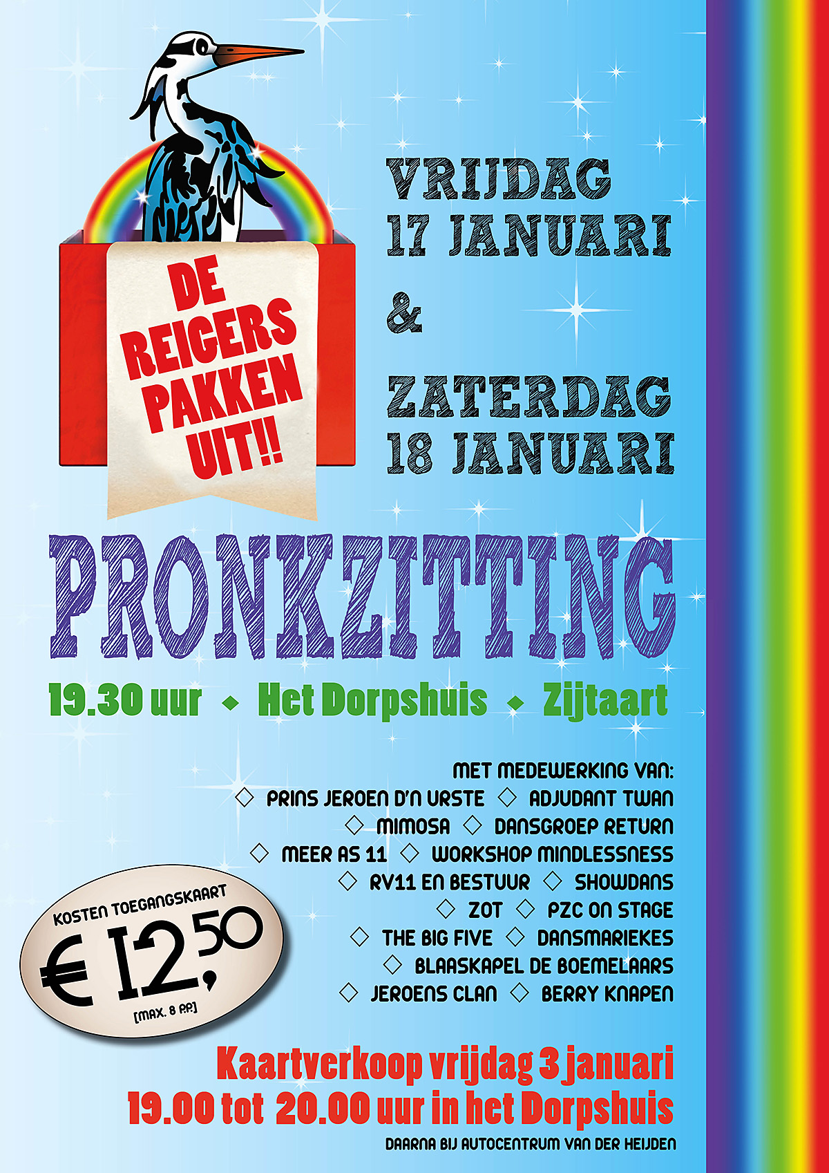 Flyer pronkzittingen 2020